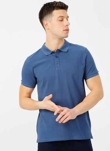 Limon Company Limon İndigo Polo T-Shirt İndigo